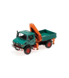 MERCEDES-BENZ UNIMOG 1300 L - KIPPER MIT LADEKRAN' - GREEN L.E. 1008 pcs.