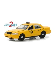 John Wick: Chapter 2 (2017) - 2008 Ford Crown Victoria Taxi Solid Pack - Hollywood Series 19