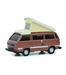 VW T3b Campingbus brown