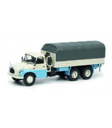 Tatra T148 Flatbed Truck blue/white