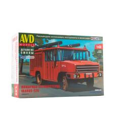 Fire engine Ikarus-526 - Die-cast Model Kit
