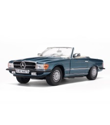 1977 Mercedes-Benz 350 SL Open Convertible - Silver Blue