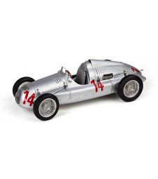 Auto Union Typ D lim.Edition 1500 #14 GP Frankreich 1939, 2. Schorsch Meier