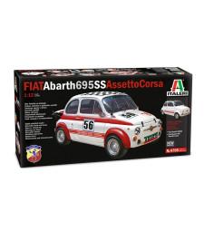 1:12 Състезателен автомобил FIAT Abarth 695SS/Assetto Corsa