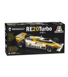 1:12 Състезателен болид RENAULT RE20 Turbo F1