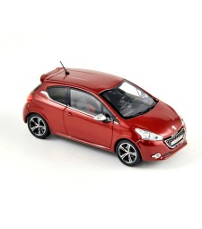 PEUGEOT 208 GTI 2012 red
