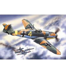 1:48 Messerschmitt Bf 109F-4, WWII German Fighter