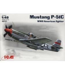 1:48 Изтребител на САЩ Мустанг П-51С (Mustang P-51C)