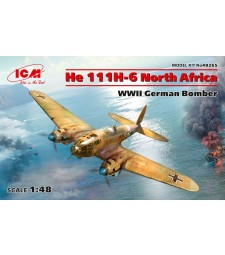 1:48 He 111H-6 North Africa, WWII German Bomber