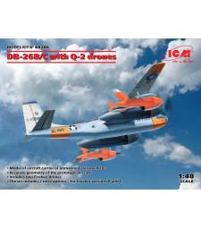 1:48 Самолет DB-26B/C с дронове Q-2
