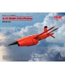 1:48 Комплект от два американски дрона Q-2C (BQM-34A) Firebee