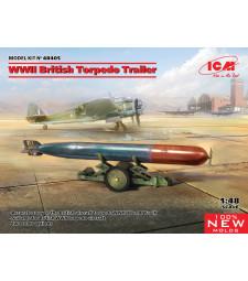 1:48 Британско ремарке с торпедо от Втората световна война (100% нови матрици)