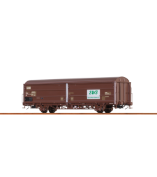H0 Товарен вагон с плъзгаща се стена Hbis DSB, VI, SWS