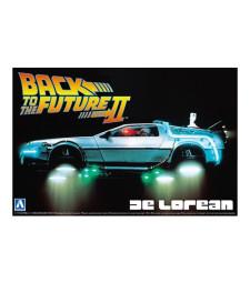 """1:24 Автомобил DeLorean от филма """"Завръщане в бъдещето 2"""" (Back To The Future II DeLorean)"""