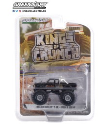 Kings of Crunch Series 9 - Push N Stomp - 1986 Chevrolet S-10 Extended Cab Monster Truck Solid Pack