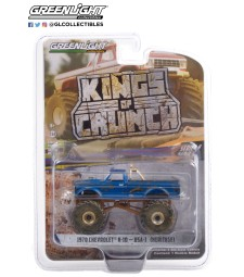Kings of Crunch Series 9 - 1970 Chevrolet K-10 Monster Truck USA-1 (Heritage, Dirty Version) Solid Pack
