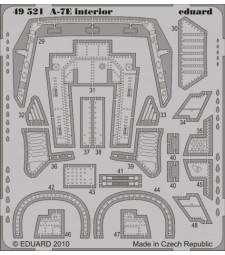 1:48 Фотоец части за A-7E interior S. A. (HOBBY BOSS)