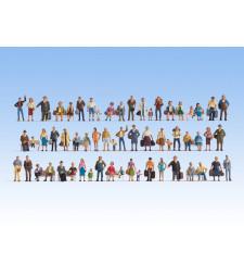 Мега икономичен сет от 60 фигури (без пейките)