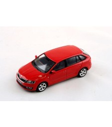 Skoda Rapid Spaceback Red Corrida Uni