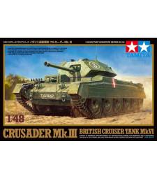 1:48 Британски танк Crusader Mk.III и Cruiser Mk.VI