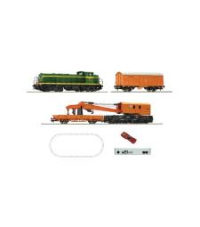 Дигитален стартов комплект - композиция за поддръжка на релсовите линии D.307, централа z21, RENFE, епоха V - VI