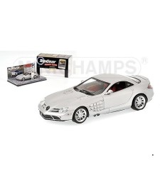 MERCEDES-BENZ SLR MCLAREN `TOP GEAR` SILVER L.E. 2009 PCS.