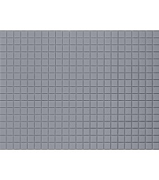 Сив паваж - пластмасова платка за декорация (1 бр. 100 x 200 mm)