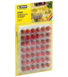 """Туфи трева XL """"червени цветове"""" – 12 mm"""