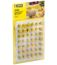 "Туфи трева XL ""цъфтящи жълти цветя"""