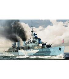 1:350 Британски боен кораб HMS Belfast 1942