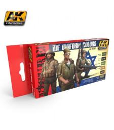 AK3230 IDF UNIFORM COLORS  - Комплект бои за фигури (6 x 17 ml)