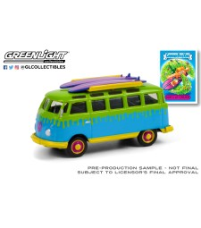 Garbage Pail Kids Series 3 - Surf's Up Chuck - 1964 Volkswagen Samba Bus with Surfboards Solid Pack