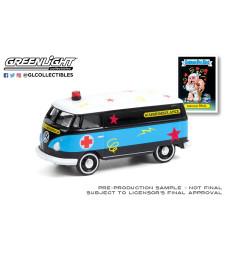 Garbage Pail Kids Series 3 - Mauled Paul - 1965 Volkswagen Panel Van Ambulance Solid Pack