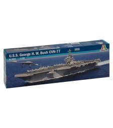 """1:720 Американски самолетоносач ЮСС """"Джордж Х. У. Буш"""" СВН 77 (U.S.S. GEORGE H.W. BUSH CVN 77)"""