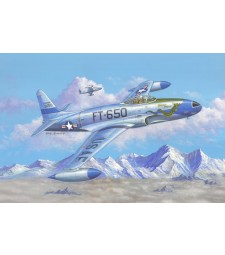 "1:48 Американски изтребител Ф-80С ""Падаща звезда"" (F-80C Shooting Star fighter)"