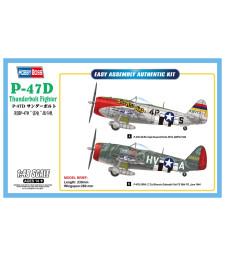 1:48 Американски бомбардировач П-47Д (P-47D Thunderbolt Fighter)