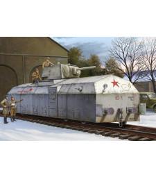"""1:72 Съветски брониран локомотив """"Krasnaja Zvezda"""""""