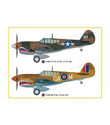 1:48 Американски боен самолет P-40M Kiti Houk (P-40M Kitty Hawk Fighter)