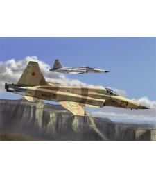 1:72 Американски изтребител Ф-5Е Тигър II, повторно издание (F-5E Tiger II Fighter - Re-Edition)