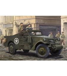 """1:35 Американски брониран автомобил М3А1 (M3A1 """"White Scout Car"""" Late Production)"""