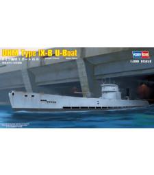 1:350 Германска подводница DKM Type lX-B U-Boat