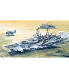 1:350 Американски крайцер КА-35 ЮСС Индианаполис, 1944 (USS Indianapolis CA-35 1944)