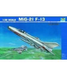 1:32 Съветски изтребител МИГ-21 Ф-13 (Aircraft -MIG-21 F-13)
