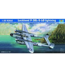"""1:32 Американски тежък двумоторен изтребител П-38Л-5-Л0 """"Мълния"""" (P-38L-5-L0 Lightning)"""