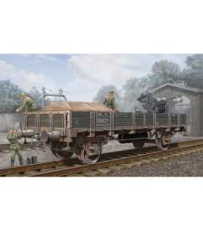 1:35 Германски товарен вагон-гондола с ниски страни (German Railway Gondola (Lower sides))