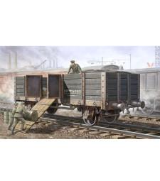 1:35 Германски товарен вагон-гондола (German Railway Gondola)