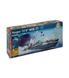 """1:35 Британски торпеден катер Воспър 72""""6' МТБ 77 (Vosper 72''6' MTB 77)"""