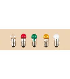 1 брой лампа с винт, прозрачна, кръгла E 5,5 3,5 V 0,20 A