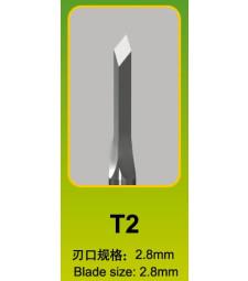 Длето Master Tools T22,8 x 2,8mm, втъх-ромб