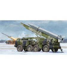1:35 Съветска ракетна установка 9P113 TEL с ракета 9K52 Луна М (9P113 TEL with 9M21 Rocket of 9K52 Luna-M Short-range artillery)